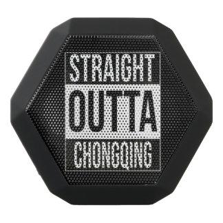 Straight Outta  Chongqing, #Chongqing Black Bluetooth Speaker