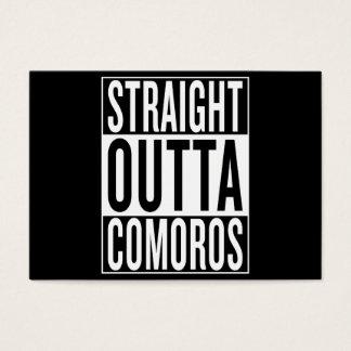 straight outta Comoros Business Card