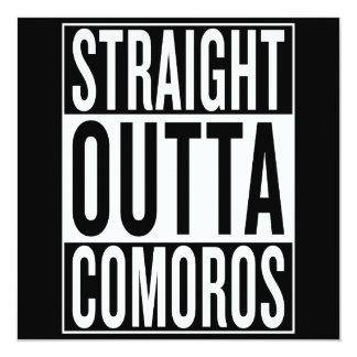 straight outta Comoros Card