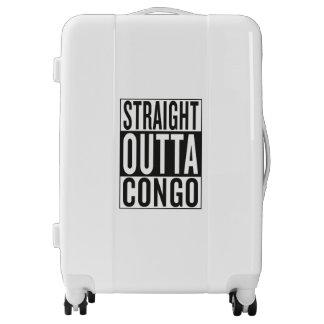 straight outta Congo Luggage