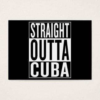 straight outta Cuba Business Card