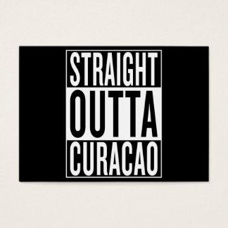 straight outta Curacao Business Card