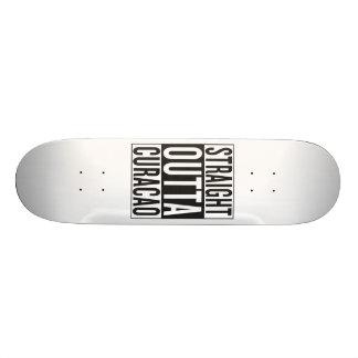 straight outta Curacao Skateboard Deck