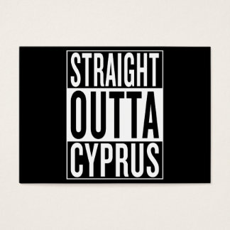 straight outta Cyprus Business Card