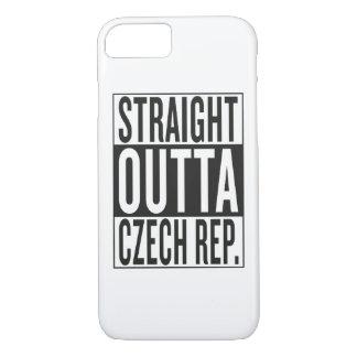 straight outta Czech Republic iPhone 7 Case