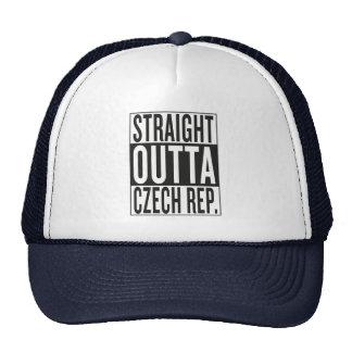 straight outta Czech Republic Trucker Hat