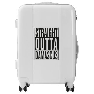straight outta Damascus Luggage
