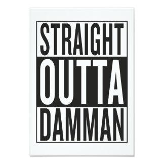 straight outta Damman Card