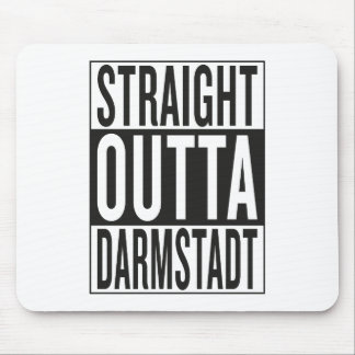 straight outta Darmstadt Mouse Pad