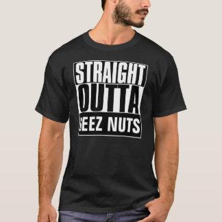 STRAIGHT OUTTA DEEZ NUTS T-SHIRT