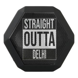 Straight Outta  Delhi, #Delhi Black Bluetooth Speaker