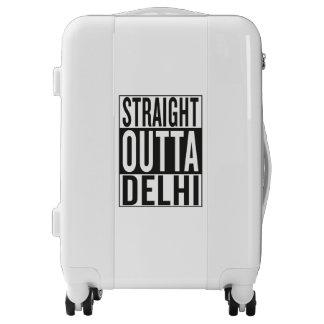 straight outta Delhi Luggage