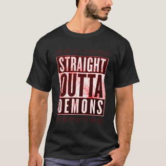 Straight Outta Demons Occult Graphic Tee