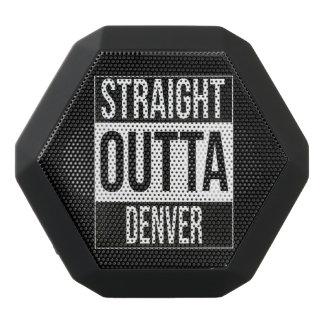 Straight Outta  Denver, #Denver Black Bluetooth Speaker