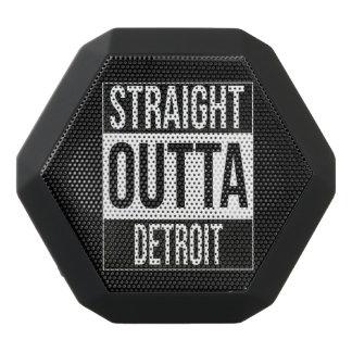 Straight Outta  Detroit, #Detroit Black Bluetooth Speaker