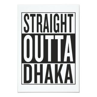 straight outta Dhaka Card