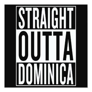 straight outta Dominica Card