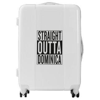 straight outta Dominica Luggage