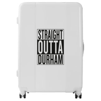 straight outta Durham Luggage