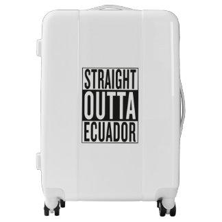 straight outta Ecuador Luggage
