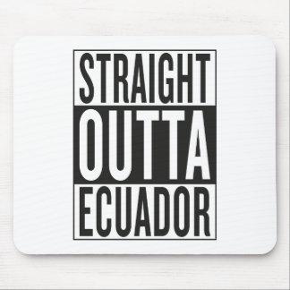 straight outta Ecuador Mouse Pad