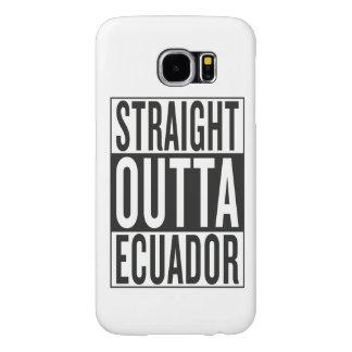 straight outta Ecuador Samsung Galaxy S6 Case