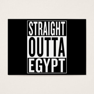 straight outta Egypt Business Card