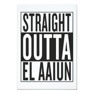 straight outta El Aaiun Card