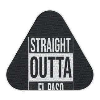Straight Outta  El Paso, #Elpaso Bluetooth Speaker