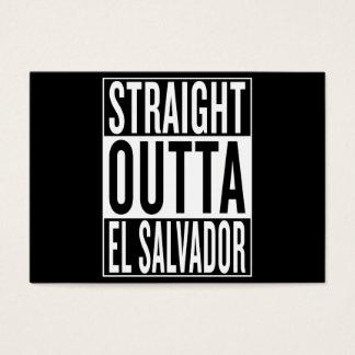 straight outta El Salvador Business Card