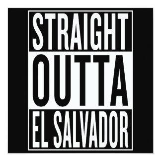 straight outta El Salvador Card