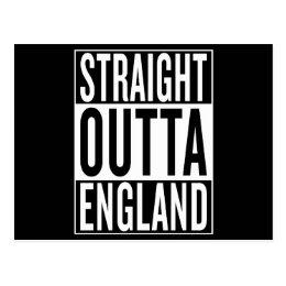 straight outta England Postcard