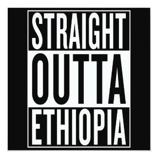 straight outta Ethiopia Card