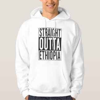 straight outta Ethiopia Hoodie