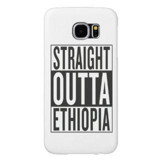 straight outta Ethiopia Samsung Galaxy S6 Case