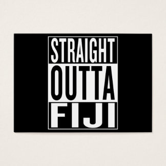 straight outta Fiji Business Card