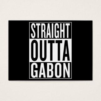 straight outta Gabon Business Card