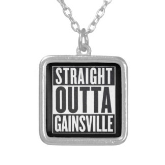 Straight Outta Gainsville Necklace