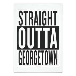 straight outta Georgetown Card