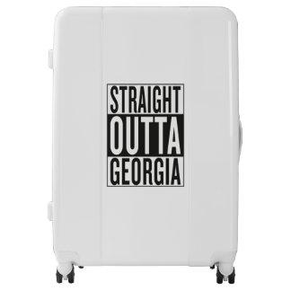straight outta Georgia Luggage