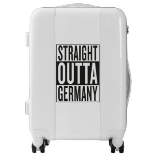 straight outta Germany Luggage