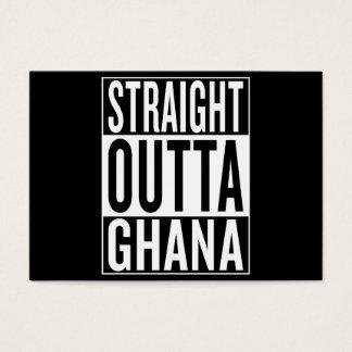 straight outta Ghana Business Card