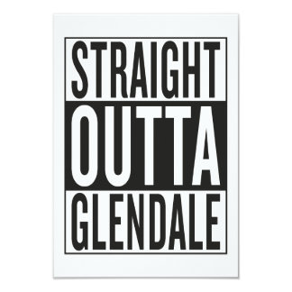 straight outta Glendale Card