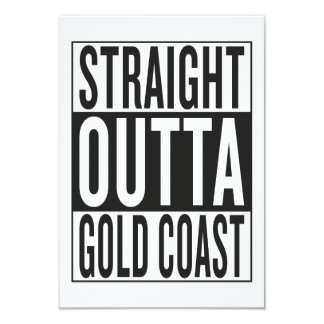 straight outta Gold Coast Card
