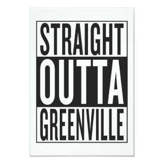 straight outta Greenville Card