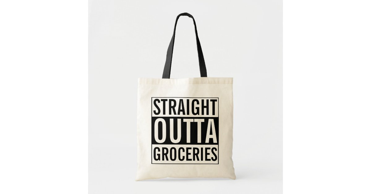 Straight Outta Full print Front  Back Tote Bag