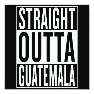 straight outta Guatemala Card
