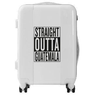 straight outta Guatemala Luggage