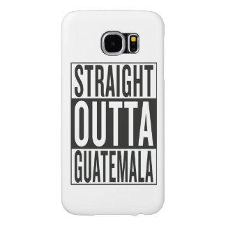 straight outta Guatemala Samsung Galaxy S6 Case