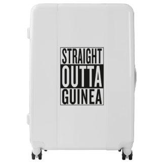 straight outta Guinea Luggage